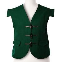Handmade 100% Wool  Men's Scottish Jacobean Jacobite Kilt Waistcoat Vest