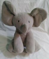 GUND Baby Animated Flappy The Elephant Plush Plays Peek A Boo Sings Do Your Ears