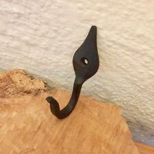 Stabiler Garderobenhaken aus Eisen | rustikaler Haken | Antike Wandgarderobe
