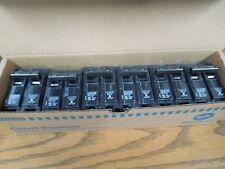 6- Siemens Q215 15A 2P 120/240V Type QP Plug-in Circuit Breaker New Surplus