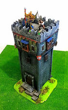 "WARHAMMER WAR GAME SCENERY "" BIG TOWER EMPIRE "" BUILDING PRO PAINTED"