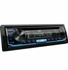 JVC Mobile KD-SR85BT Single-DIN In-Dash AM/FM/CD Receiver with Bluetooth (F)