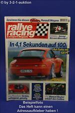 Rallye Racing 6/96 Porsche Ruf Kia Roadster Audi S6