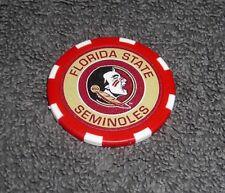Ncaa College Football Florida State Seminoles Souvenir Collectible Poker Chip