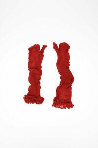 MAISON MARGIELA women Underwear Size M red Wool Knitted TABI SOCKS MM6 Red M ...
