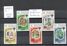 Nicaragua - 1980 Nr.2080/4-b**  M.-35,90€- mit silbernem Aufdruck