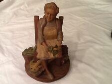 Tom Clark Gnome LEAH with Original COA