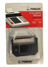 Calculator Ribbon PR-485 Universal Replacement Office Supply Black/Red Set of 4