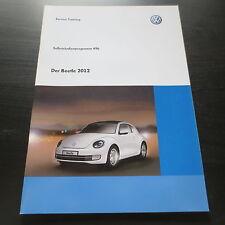 VW SSP Selbststudienprogramm 496 Der Beetle ab 2012 Karosserie Elektrik Klima ..
