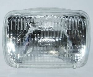 7X6 Halogen Sealed Beam Hi Low Beam Glass Headlights Headlamp Light Stock Bulbs