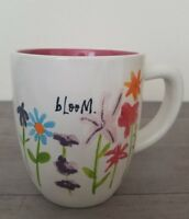 BRAND NEW RAE DUNN By Magenta BLOOM Flowers Mug Spring Home Dining Decor