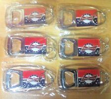 Budweiser Stars & Stripes Bottle Opener Key Ring - New & Free shipping  Set of 6