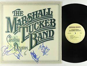 Marshall Tucker Band - Carolina Dreams LP - Capricorn VG++ Autographs