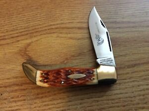 PARKER-FROST CUTLERY JAPAN ***THE LITTLE BANDIT)*** CLASP POCKET KNIFE NEW