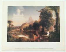 VINTAGE ART THOMAS COLE VOYAGE OF LIFE YOUTH 1842 NATIONAL GALLERY OF ART PRINT