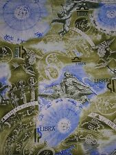 HOROSCOPE SIGNS FABRIC LIBRA  BY THE 1/2 YARD  NEW FROM FABRI-QUILT