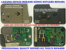 Ripara Aggiusta manutenzione- Renault Chiave Carte Laguna,Megane,Espace,Scenic