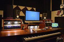 Studio Production Desk - Mixing Desk - Composer Desk HAND MADE in Texas