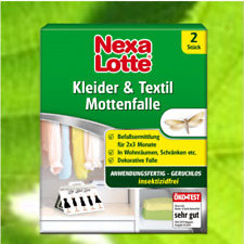 Nexa Lotte Mottenfalle Textil Kleidermotten-Falle 2 Stück °GB