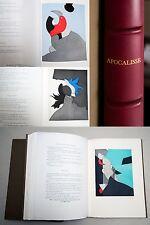 GIANNI DOVA APOCALISSE di San Giovanni - VOLUME con 7 acqueforti originali 1979