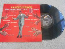 Lloyd Price R&R LP (ABC-PAR ABC 324) Mr. Personality's 15 Hits VG MONO
