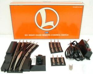 Lionel 6-23011 O O31 Right Hand Remote Control Switch Turnout EX/Box