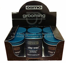 Osmo Essence Clay Wax No Shine 100ml x 6 PACK Official Stockists New Packaging