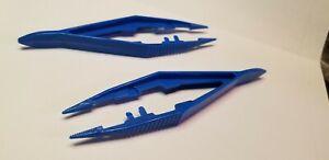 Blue Non-Magnetic Tweezers Lot Of 2 - for Fray Tjet DASH HO Slot Cars