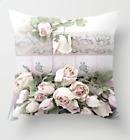 "Home Decor Flower Pillow 18""x18"" Polyester Sofa Soft Cushion Cover Pillow Case"