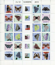 More details for st maarten butterflies stamps 2013 mnh brimstone butterfly insects 24v m/s