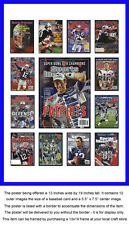 New England Patriots Sports Illustrated Cover Collection Poster