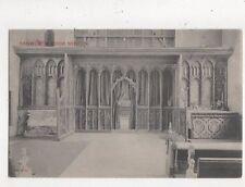 Ranworth Church Rood Screen Vintage Postcard 819a