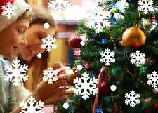 Removable Christmas Snow Snowflake Wall Sticker Vinyl Decal Xmas Window Decor