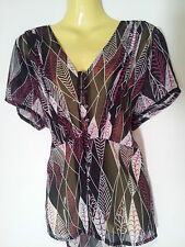 Katies Polyester Regular Geometric Tops & Blouses for Women