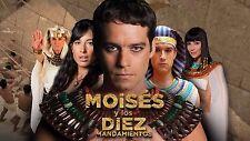 Moises y Los Diez Mandamientos. Telenovela  Brazileña 2 Temp 51 Dvds