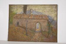 Chapelle à SAINT DONAT Provence Marguerite Dubois XX° Siècle