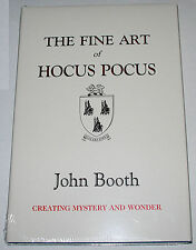 John Booth Fine Art Of Hocus Pocus Book :: FREE US POSTAGE