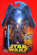 Star Wars 2005 Anakin Skywalker Slashing Attack - Revenge of the Sith MOC