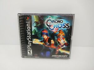 Chrono Cross (PlayStation 1, 2000) CIB Black Label