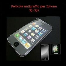 pellicola antigraffio display per iphone 3g e 3gs