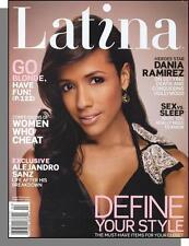Latina - 2008, February - Dania Ramirez, Women Who Cheat, Alejandro Sanz