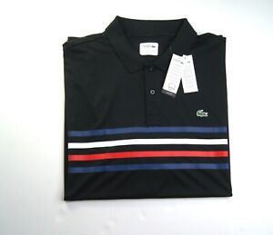 LACOSTE SPORT Men's Big & Tall Ultra Dry Performance Polo Shirt 5XLB NWT $125