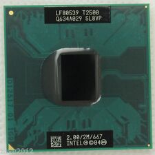 T2500 SL8VP SL9EH- Intel Core Duo 2.0 GHz 2MB 667 MHz US Test OK free shipping