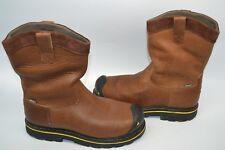 c8f532369364 KEEN 1007043 Men s Dallas Wellington Steel Toe Work Boot waterproof Brown  12 EE
