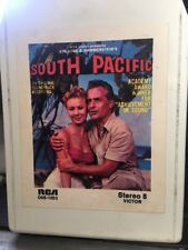 South Pacific 8-Track Tape Soundtrack Stereo Play Ready New Pad/Splice TIKI A+