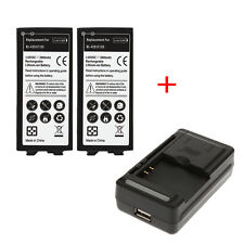 2x 2800mAh Backup Battery Replacement + Universal USB Wall Charger For LG G5 New