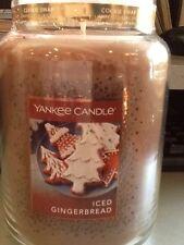 YANKEE Candle Iced Pan di Zenzero USA Cookie Swap COLLEZIONE LIMITATA