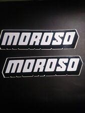 Moroso Large b//w Sticker Decal
