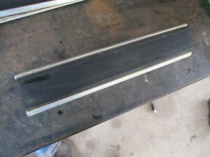 81-93 DODGE RAMCHARGER LEFT REAR 1/4 PANEL FRONT SIDE TRIM W/ BLACK INSERT