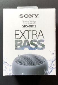 Sony Bluetooth Wireless Speaker Extra Bass SRS-XB12 [ BLACK Edition ] NEW
